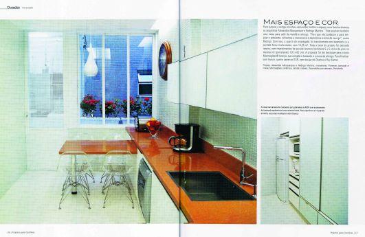 """Publicação revista """"Projeto de Cozinhas"""""""